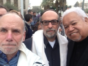 With Rabbi Aryeh Cohen and Rev. Norman Copeland